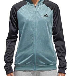 Adidas Women's Embossed Print Track Jacket